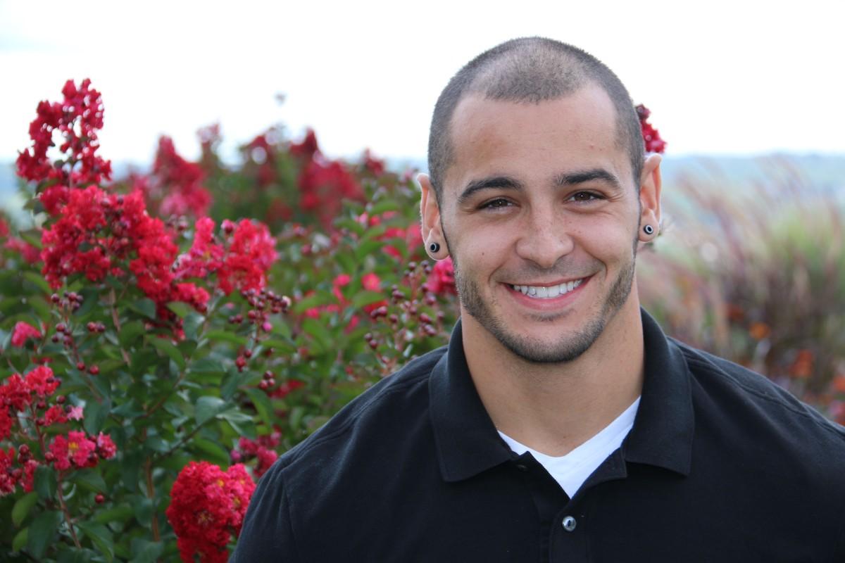 Zach, recovery grad, 2015