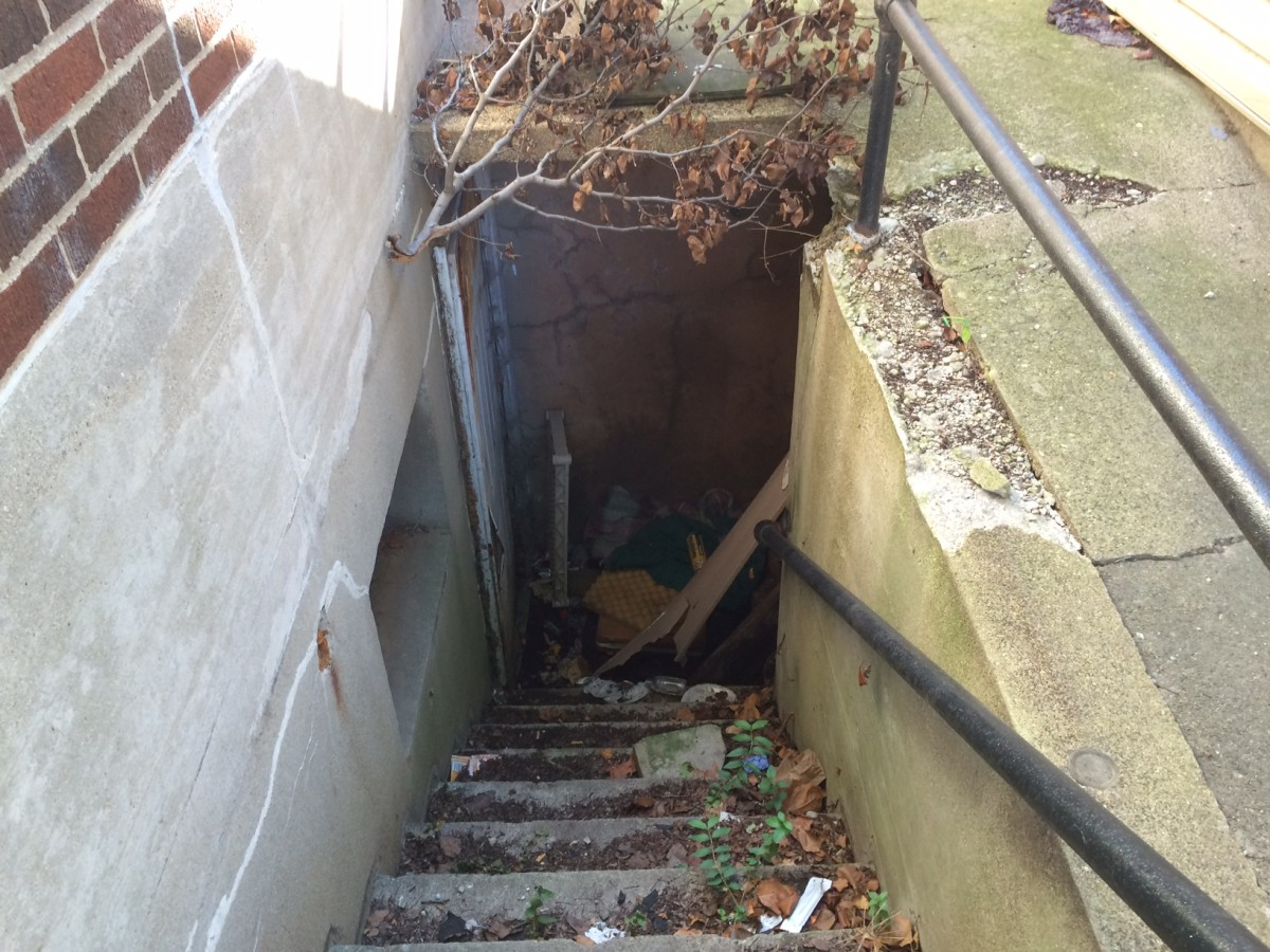 Jobs Plus Middletown Stairwell