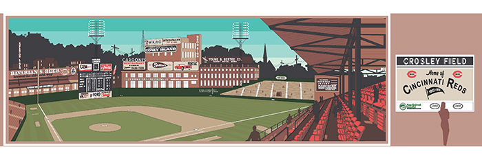Crosley Field Historic Site opening