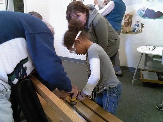 Building the Buddy Bench