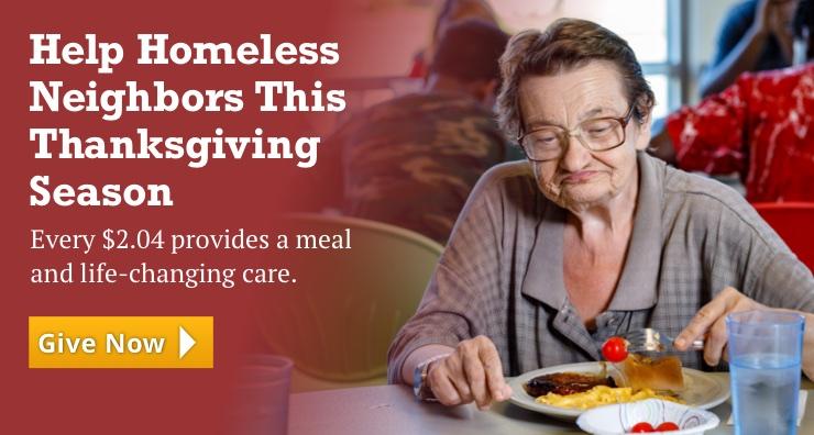 Help Homeless Neighbors This Thanksgiving Season
