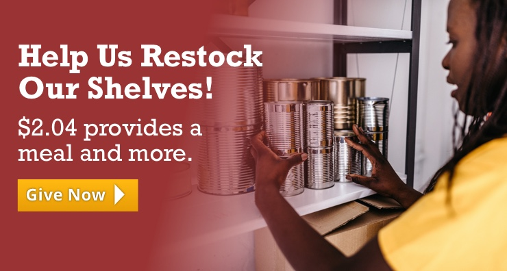 Help Us Restock Our Shelves!